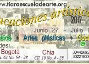 Vacaciones Artísticas Junio Julio 2017