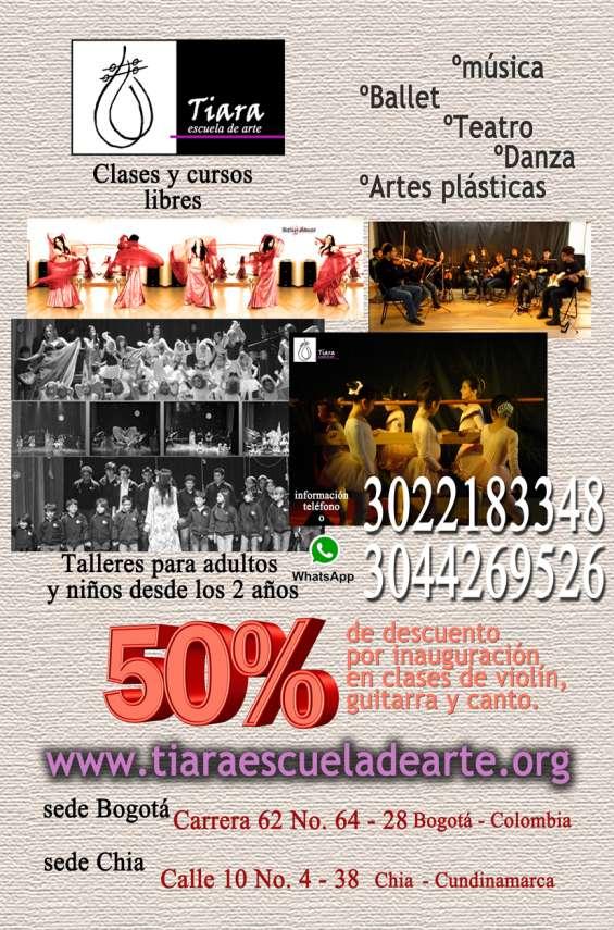 Tutorias musicales ,clases de danza pre-universitarios