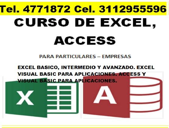 Excel macros bogota, capacitación, curso, asesorías, programación excel visual