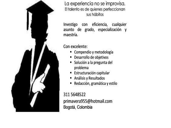 Hago trabajos escolares, universitarios, de grado. experiencia y excelencia 3-11 564-8522
