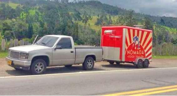 Vendo 2 trailer de comida y camioneta para halarlos