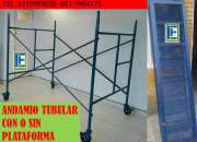 ANDAMIO TUBULAR TRADICIONAL Y PARAL METALICO ,ESPOCOLOMBIA SAS