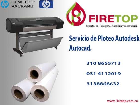 Ofrecemos servicio de impresión en plotter