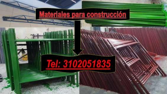 Fotos de Formaleta metalice, paral metalico corto, largo y extralargo 1