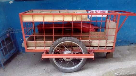 Se vende carreta grande tipo zorra de arrastre multiusos en buenas condiciones
