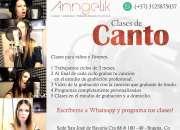 Clases de Canto - Tecnica Vocal en Bogota  para niños y jóvenes