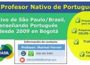 Clases de Portugués con Profesor Nativo