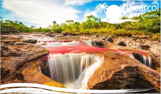 Vacaciones y turismo por caño cristales