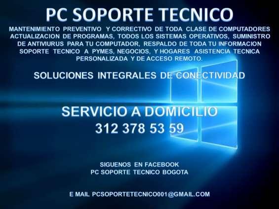 Pc soporte tecnico bogota