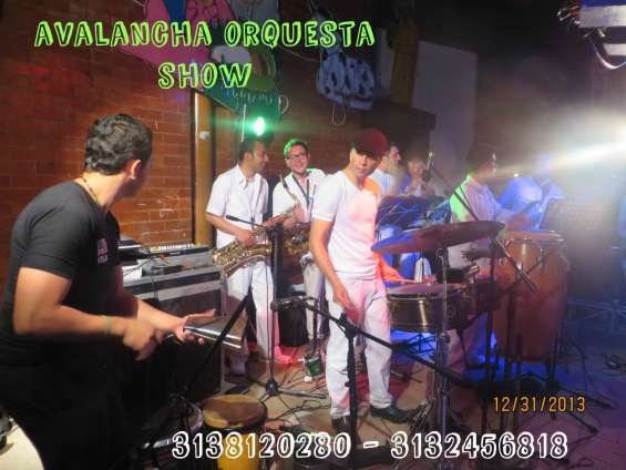 El calvario meta orquesta tropical