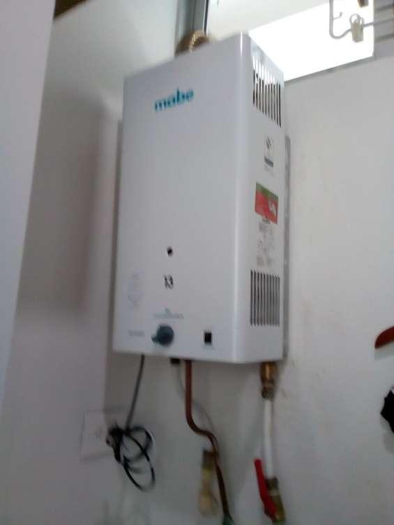 Servicio técnico de calentadores mabe en bogota cel: 3205164390