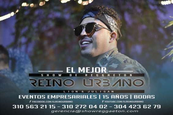 Fotos de Show de reggaeton quince años reino urbano 7