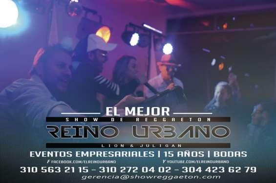 Fotos de Show de reggaeton quince años reino urbano 2