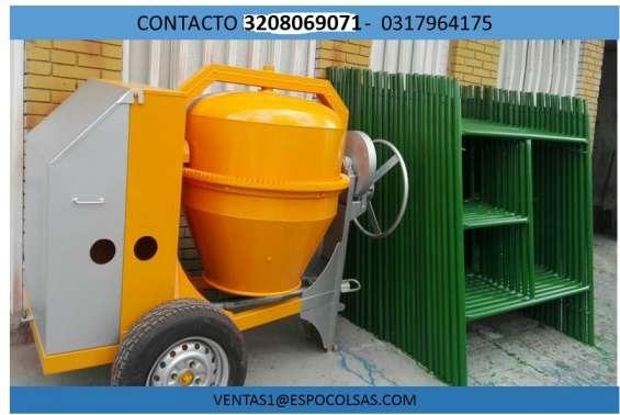 Fotos de Mezcladoras para cemento - trompos gasolina forte 1