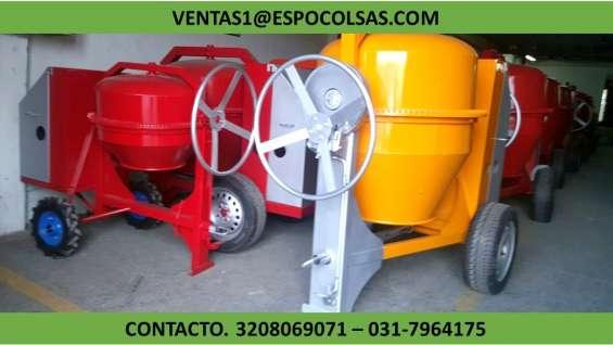Mezcladoras para cemento - trompos gasolina