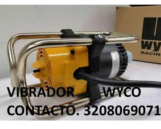 Vibradores para concreto electricos wyco original y gasolina