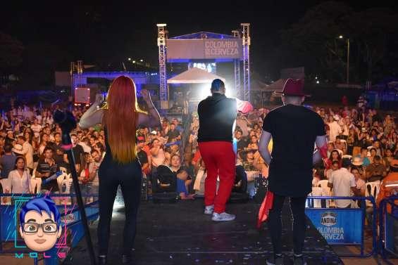 Show de reggaeton en bogota - la mole a otro nivel